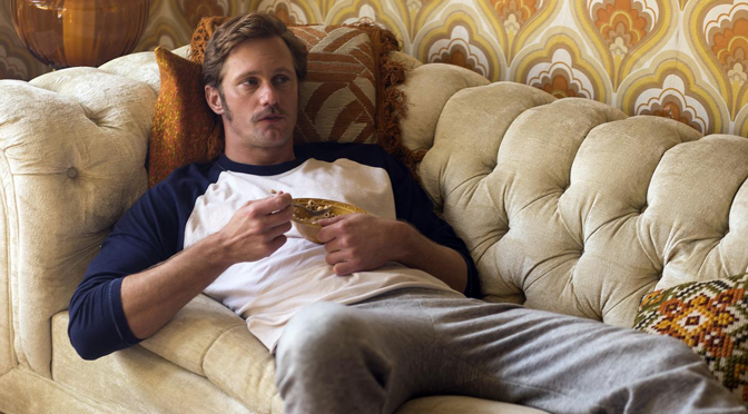 """Alexander Skarsgård: """"Even in a sex scene, you can't show a butt or a nipple"""""""