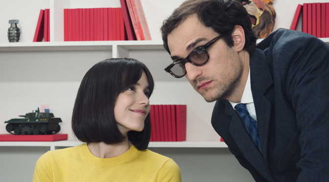 Stacy Martin on 'Redoubtable', Wiazemsky and Godard